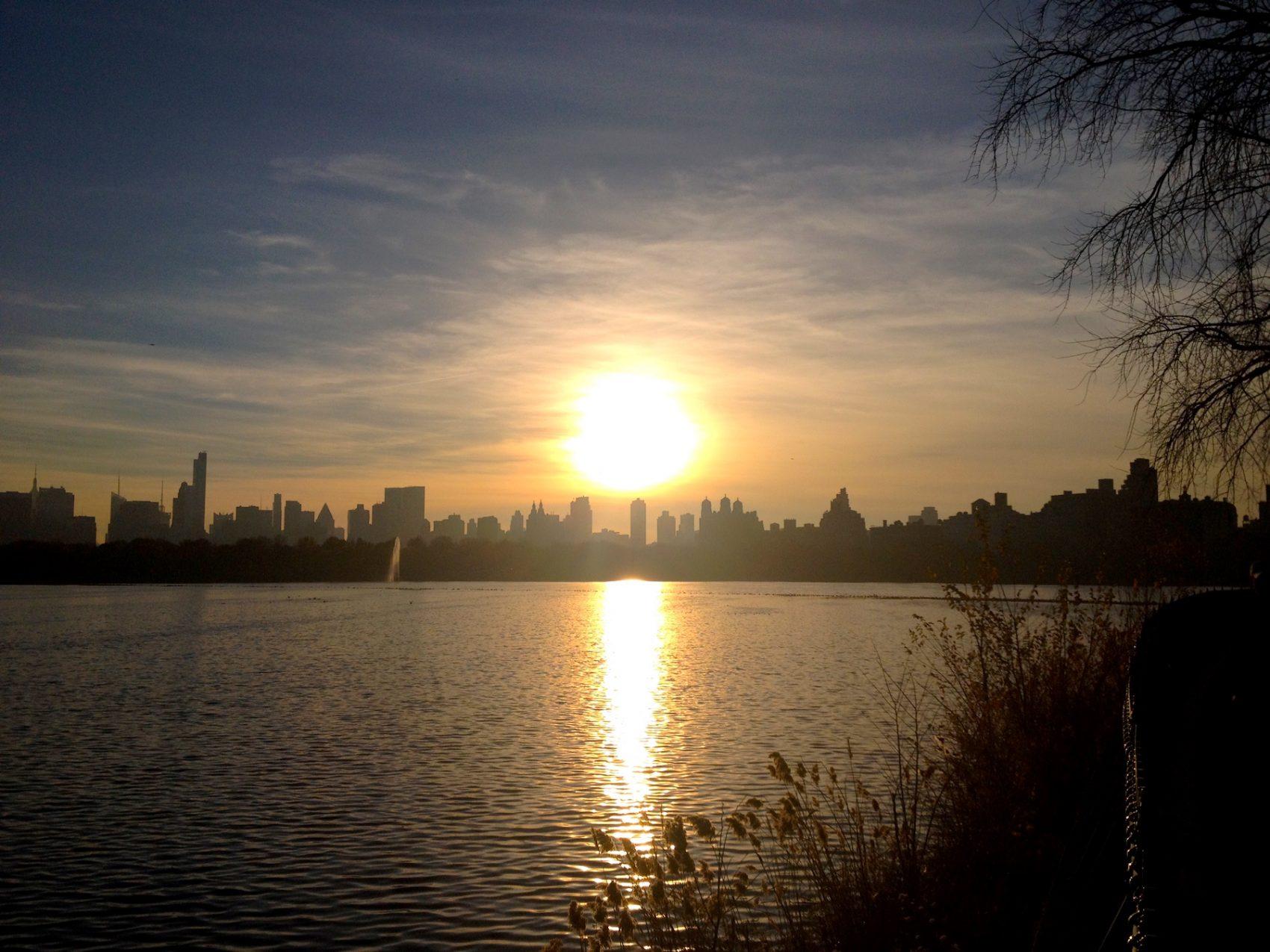 Coucher de soleil skyline