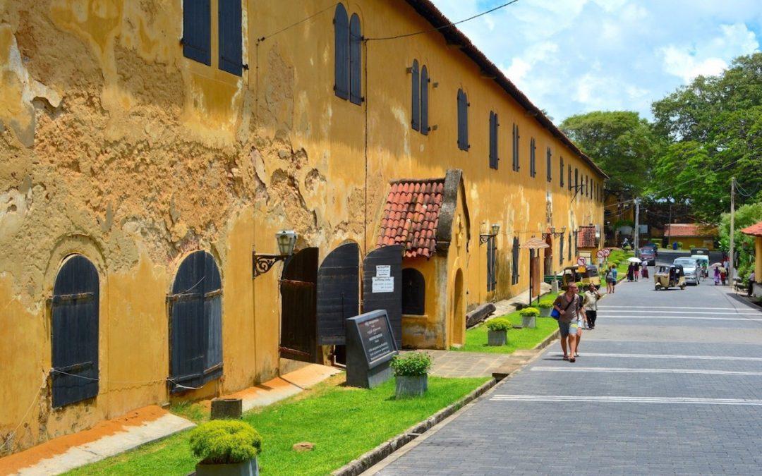 Sri Lanka #10 – À l'abri derrière les remparts du fort de Galle